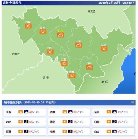 吉林省长春市社保_吉林省气象局:吉林省发布大风蓝色预警